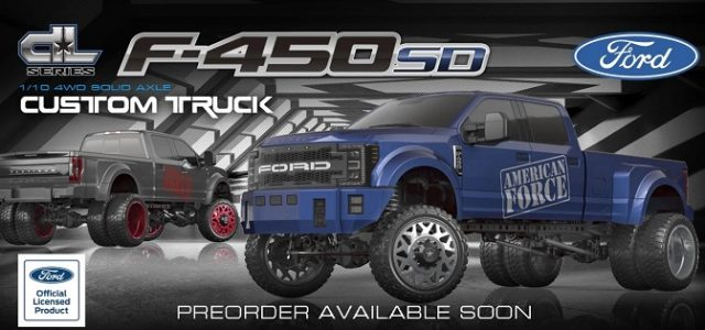 CEN Racing F450 SD 4WD RTR DL Series Custom Truck [VIDEO]