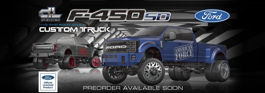 CEN Racing F450 SD 4WD RTR DL Series Custom Truck