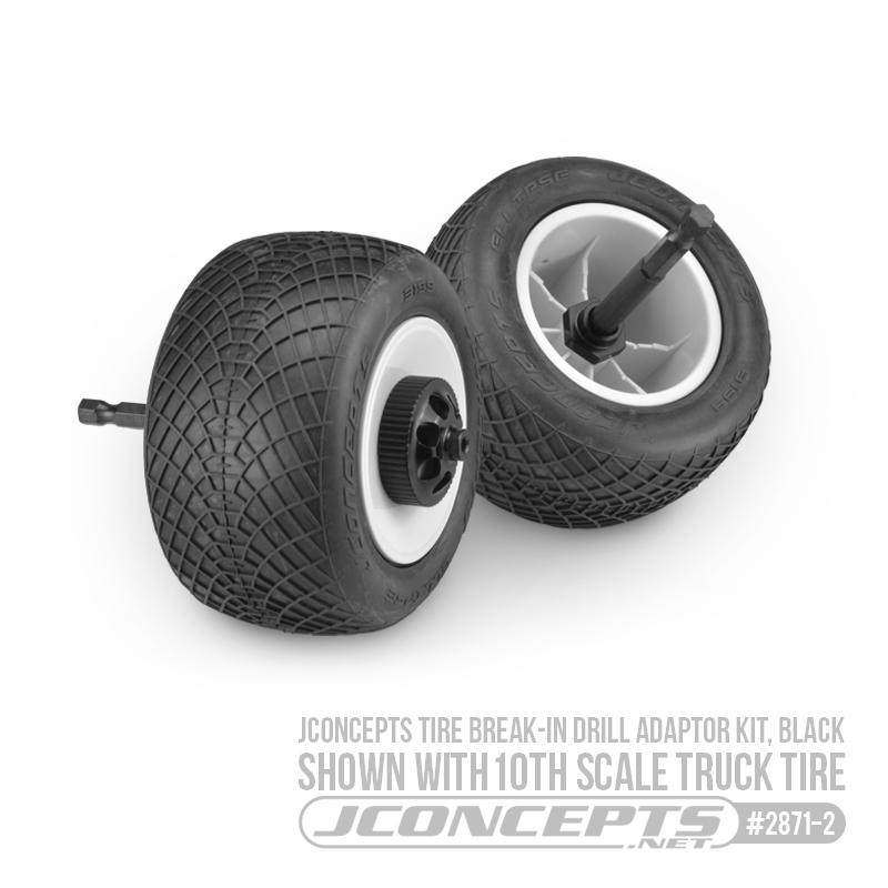 JConcepts Tire Break-In Drill Adaptor Kit