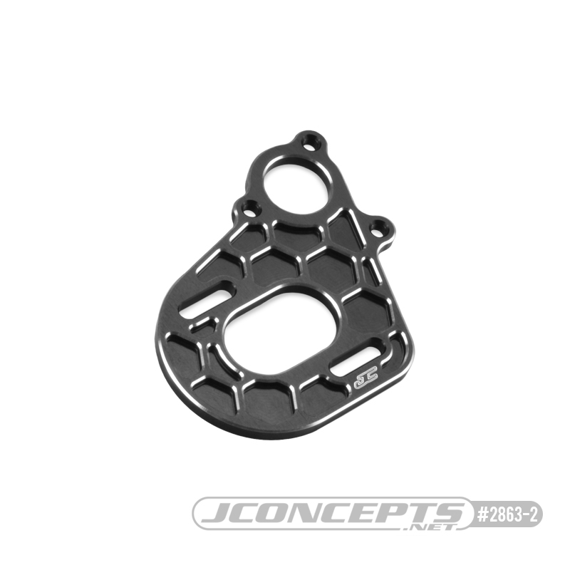 JConcepts Transmission Motor Plate For Axial SMT10, AX10, SCX10 & Wraith Vehicles