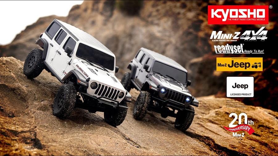 KYOSHO MINI-Z 4×4 Readyset Jeep Wrangler Unlimited Rubicon