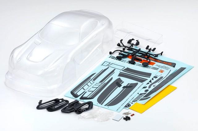 Kyosho Fazer Mk.2 FZ02 Chassis Kit With Mercedes GT3 2020 Clear Body