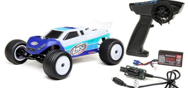 Losi 1/18 Mini-T 2.0 2WD Stadium Truck Brushless RTR [VIDEO]