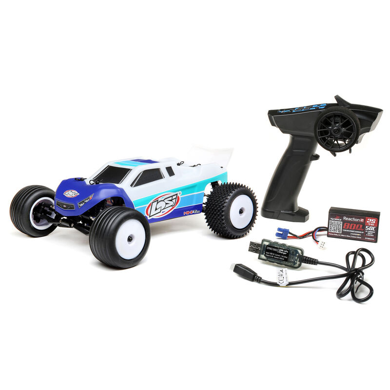 Losi 1/18 Mini-T 2.0 2WD Stadium Truck Brushless RTR