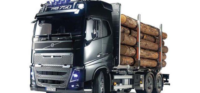 Heavy Hauler – Tamiya Volvo FH16 Globetrotter 750  6×4 Timber Truck