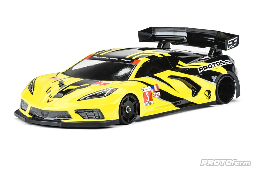 PROTOform Chevrolet Corvette C8 Clear Body For The GT12