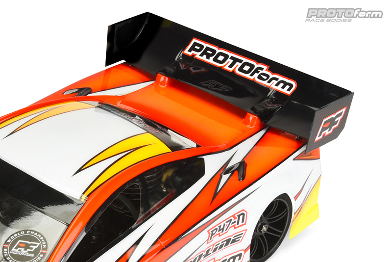 PROTOform P47-N Clear Bodyfor 200mm TC Now Available In X-Lite Weight Option