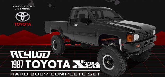 RC4WD 1/10 1987 Toyota XtraCab Hard Body Set [VIDEO]