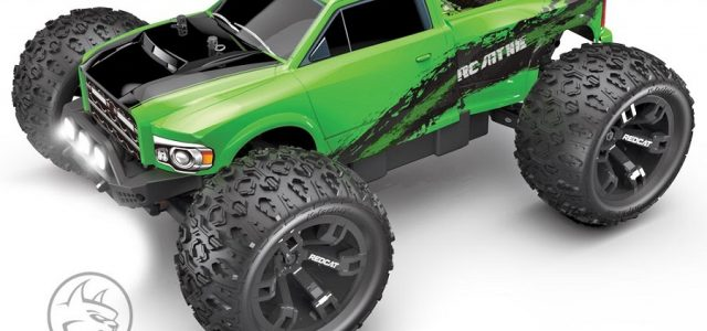Redcat Racing RC-MT10E 1/10 Monster Truck RTR [VIDEO]