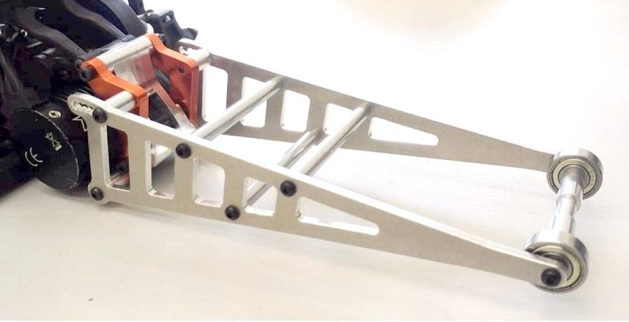 ST Racing Green Wheelie Bar Kit for Associated DR10 STC71071G