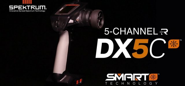 Spektrum DX5C Smart 5-Channel DSMR Transmitter [VIDEO]