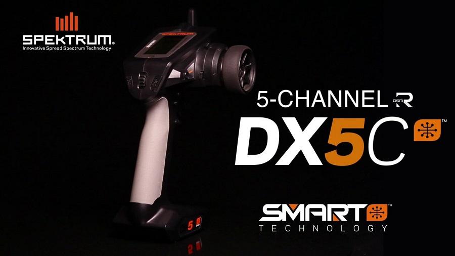 Spektrum DX5C Smart 5-Channel DSMR Transmitter