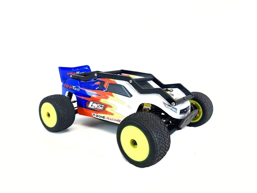 TBR Chassis Skid & R1 EXO Cage For The Losi Mini-T 2.0