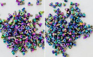 Trinity Oil Slick Titanium 6pc X-Factor Motor Screw Kit
