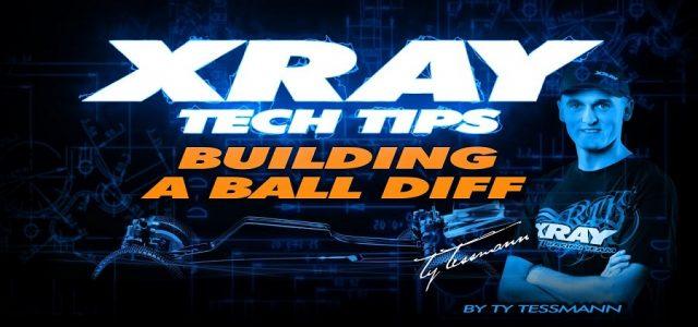 XRAY TECH TIPS – Building A Ball Diff On XB2 [VIDEO]