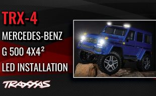 LED Light Kit Installation | TRX-4 Mercedes-Benz G 500 4×4² [VIDEO]