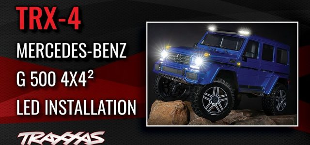 LED Light Kit Installation | TRX-4 Mercedes-Benz G 500 4×4² [VIDEO]