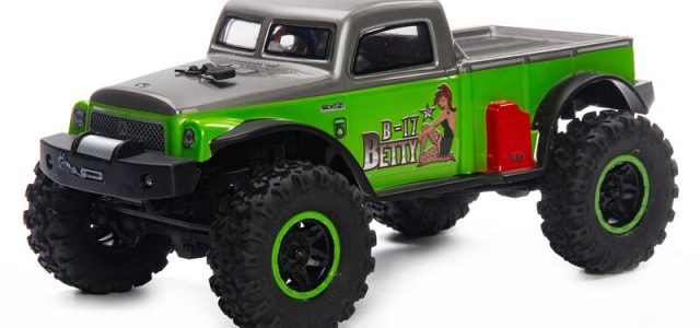 Axial Limited Edition 1/24 SCX24 B-17 Betty 4WD RTR [VIDEO]