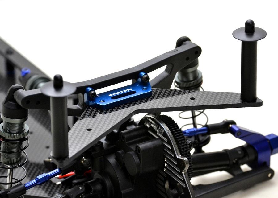 Exotek Carbon Fiber Rear Body Mount For The Traxxas Slash