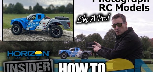 How To Photograph RC Models [VIDEO]