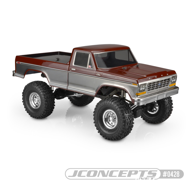 JConcepts 1979 Ford F-250 Clear Body