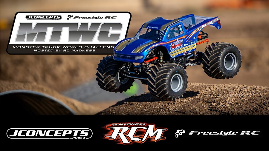 JConcepts At The Monster Truck World Challenge 2020