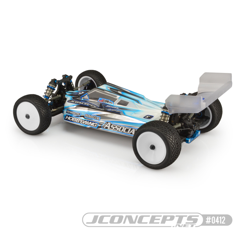 JConcepts B74.1 S2 Clear Body