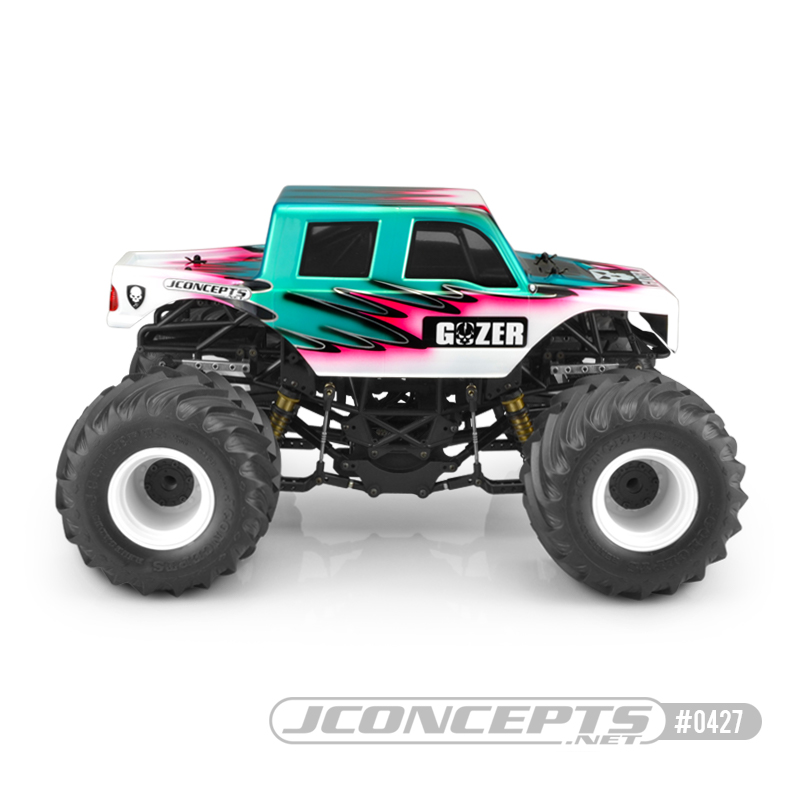 JConcepts The Gozer Clear Monster Truck Body