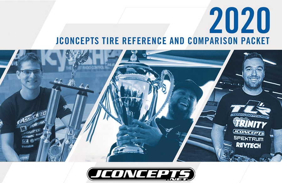 JConcepts Tire Reference & Comparison Packet