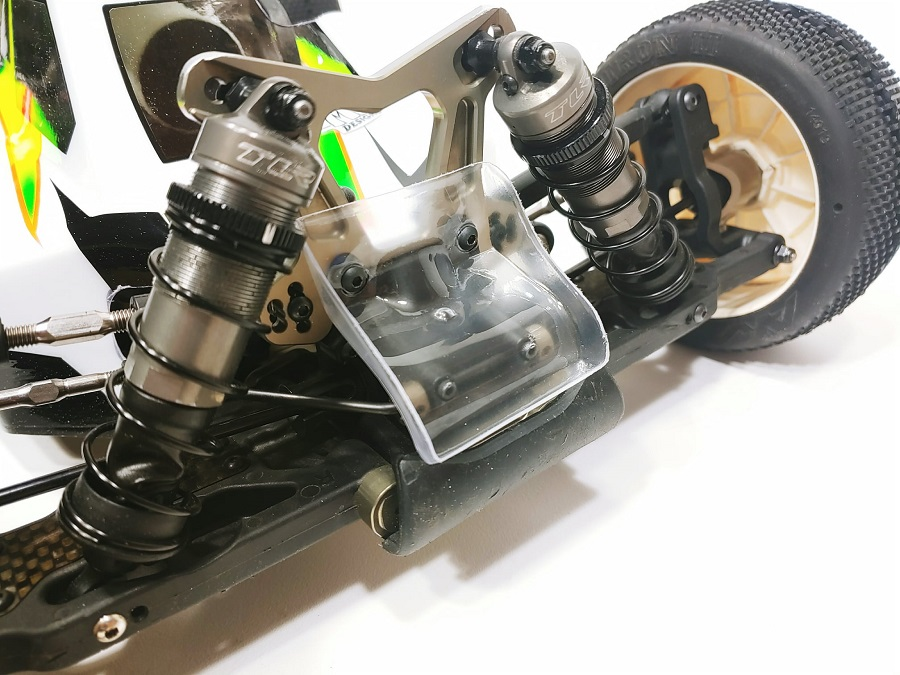 Leadfinger A2.1 Tactic Clear Body For The TLR 8IGHT-X Nitro Buggy