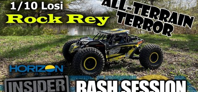Losi 1/10th Rock Rey – Horizon Insider Bash Session [VIDEO]