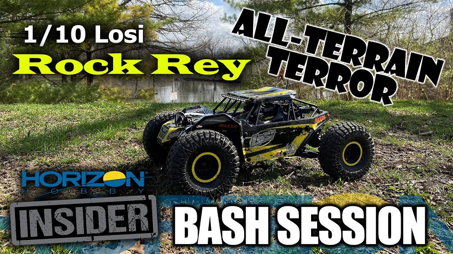 Losi 110th Rock Rey - Horizon Insider Bash Session