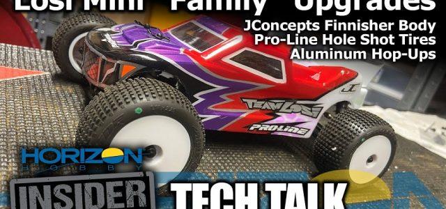 "Losi Mini ""Family"" Upgrade Spotlight – Horizon Insider Tech Talk [VIDEO]"