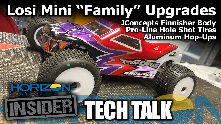 Losi Mini Family Upgrade Spotlight - Horizon Insider Tech Talk
