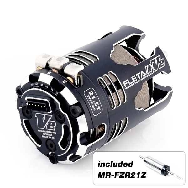 Muchmore FLETA ZX V2 21.5T ER Spec Brushless Motor With 21Z Rotor
