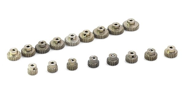 Muchmore Racing Aluminum Hard Coated 48P Pinion Gears