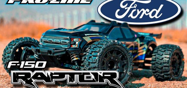 Pro-Line Ford F-150 Raptor Clear Body For The Traxxas Rustler 4×4 [VIDEO]