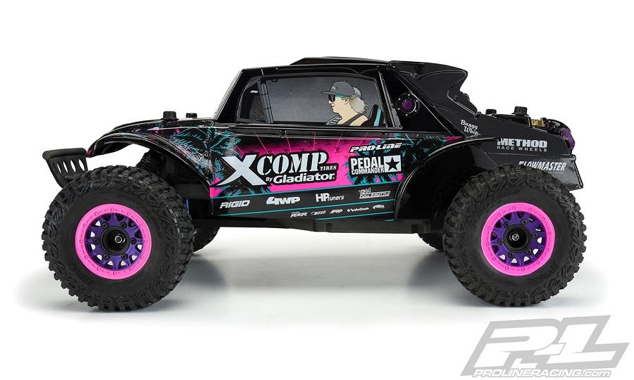 Pro-Line Megalodon Desert Buggy Blake Wilkey Edition Tough-Color (Black) Body