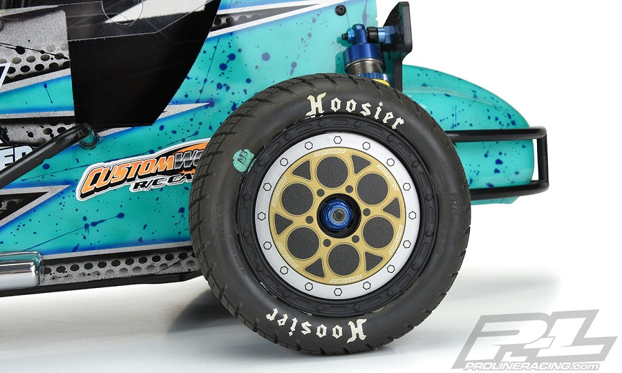 Pro-Line Showtime Bi-Metallic (Silver/Gold) Wheel Dots