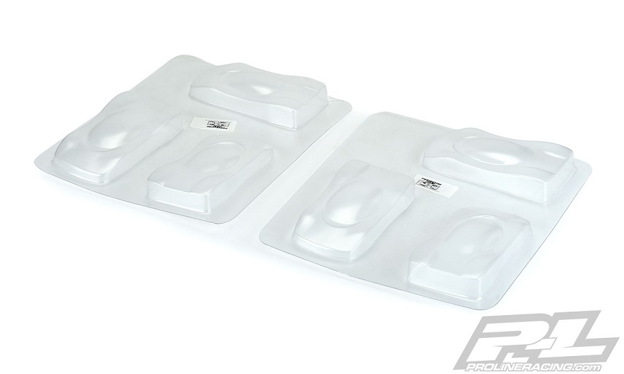 Pro-Line Speed Forms (6-Pack) Mini Clear Test Bodies