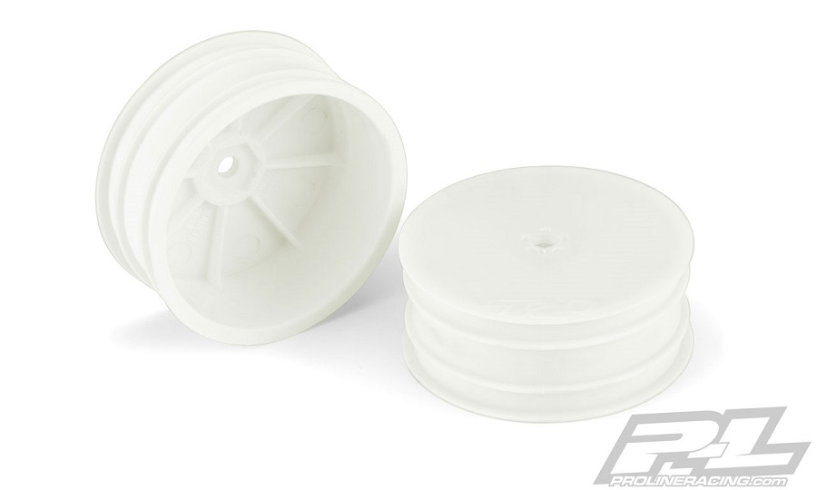 "Pro-Line Velocity 2.2"" Hex Front Wheels For The TLR 22 5.0"