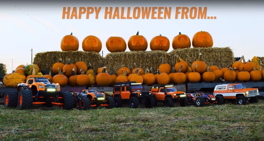 RC Pumpkin Patch Takeover With Traxxas