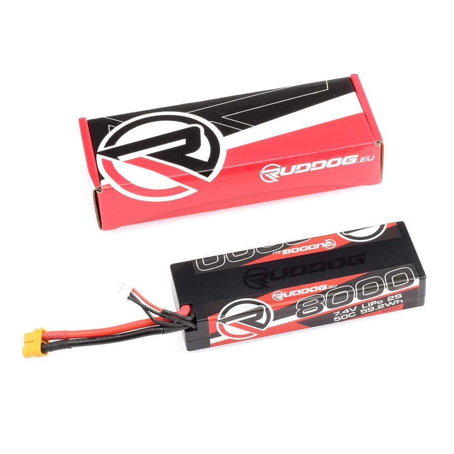 RUDDOG Hobby LiPo Battery Packs