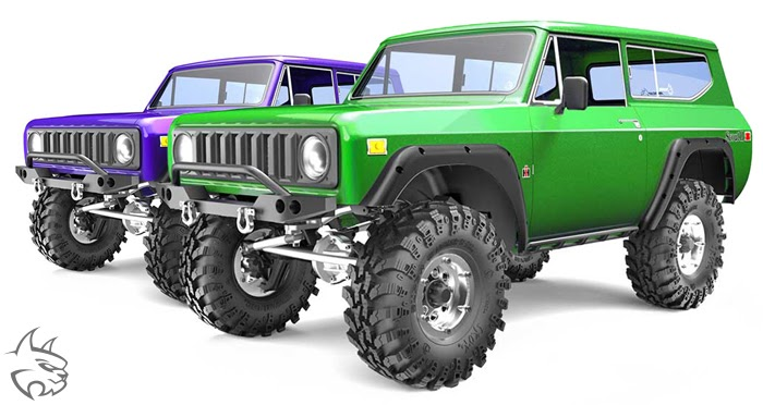 Redcat Gen8 Scout II Crawler Front Portal Axle w// Steering Linkage