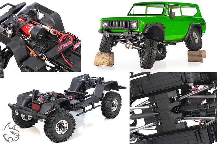 Redcat Gen8 V2 ​International​​ Scout II ​RTR Crawler