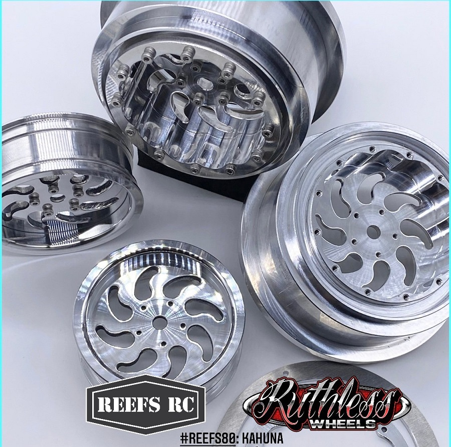 Reef's RC Kahuna & Tidal Drag Wheels