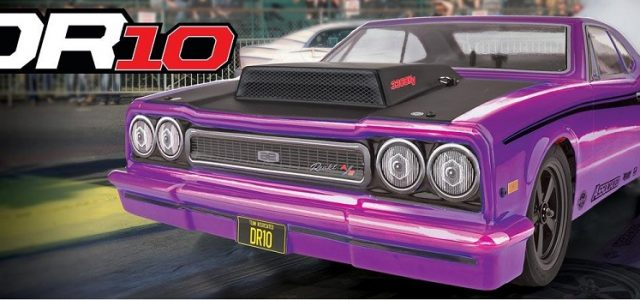 Team Associated DR10 Drag Race Car RTR Now With Purple Body