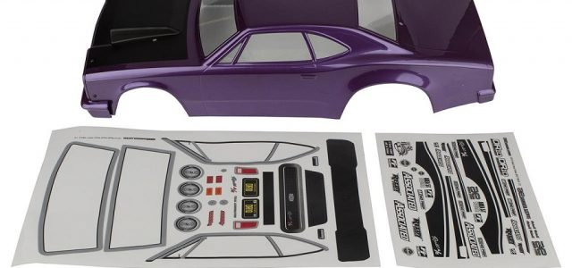 Team Associated Purple Reakt Drag Body For The DR10