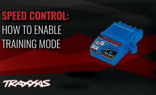 Traxxas Support: How to Enable Training Mode [VIDEO]