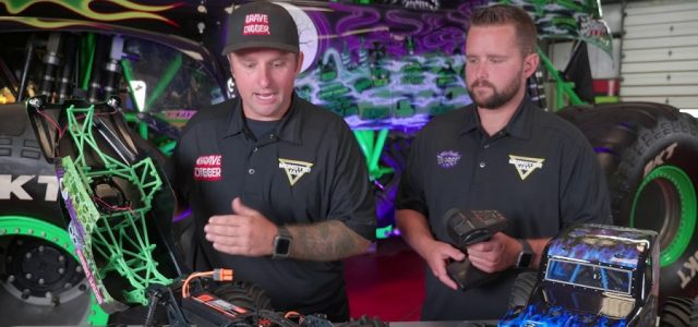 1st Look With Adam & Ryan Anderson Of The Losi LMT Grave Digger & Son Uva Digger [VIDEO]